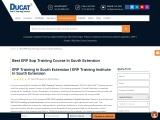 best sap training institute in south extension