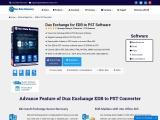 Dux EDB to PST Converter Software