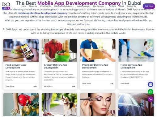 New Mobile App Development Dubai