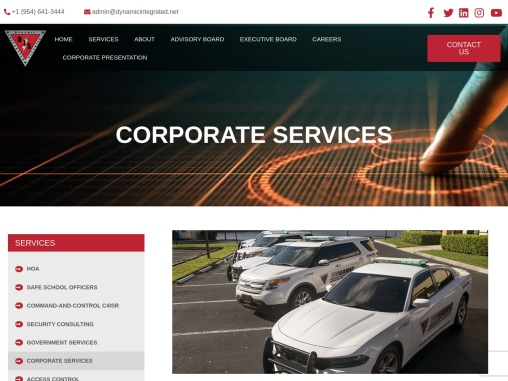 DIS Corporate Security Services USA | Business Protection Specialists
