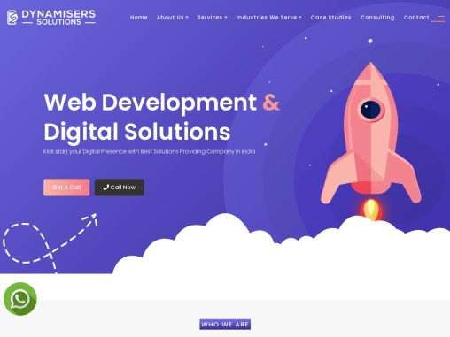 Best Website Design Company in Delhi- Dynamisers Solutions Service