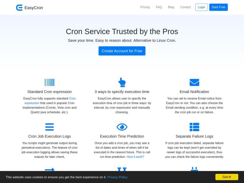 EasyCron.com | オンラインのcronジョブサービス