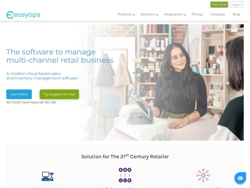 Easyops | Cloud based sale and inventory management software in India