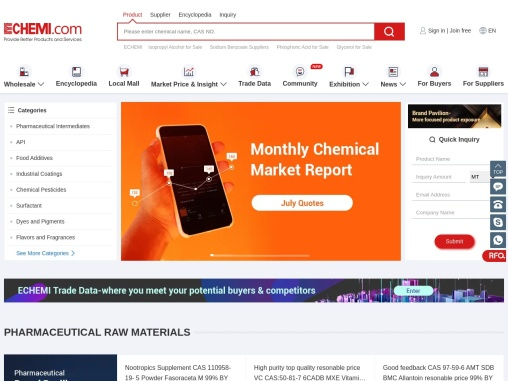 Echemi: Provide Chemical Products and Services to Global Buyers