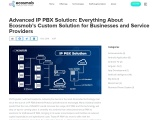 Advanced IP PBX Solution: Everything About Ecosmob's Custom Solution for Businesses