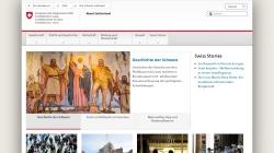www.eda.admin.ch Vorschau, Informationen über die Schweiz
