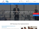 SAP Business One Implementation Partner| SAP B1 Implementation in India