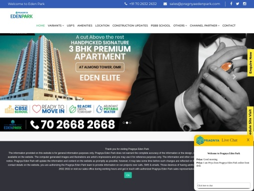 Flats in OMR | 1/2/3 BHK Apartments for Sale in Siruseri