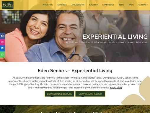 Senior living apartments in Dehradun | Luxury senior living