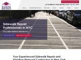 eden sidewalk repair in New York