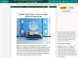Popular Types Of Bed – Decor La Rouge – Interior Design Service