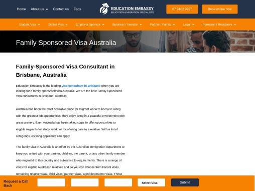 Family Sponsored Visa Australia