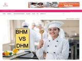 Difference between BHM and DHM