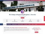 RV College of Engineering – Direct Admission