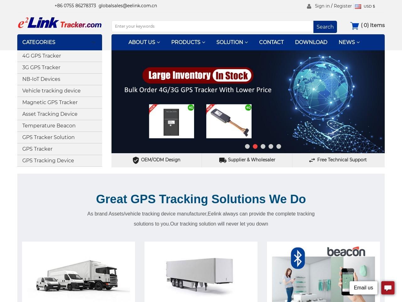 gps asset tracker-Eelink Communication Technology Limited