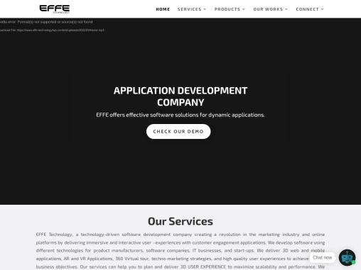 EFFE Technology | AR VR Company in Chennai | 360 Video for VR | XR Extended Reality | App Developmen