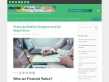 Financial Ratios Analysis and its Importance