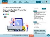 Best Lease Purchase Program in Trucking Industry