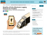 Benefits of Electronic Logging Devices for Truckers