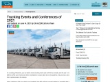 Trucking Events and Conferences of 2021