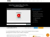 eGrabber's Management Finder Tool