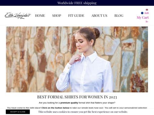 Luxurious Formal Shirts for Women