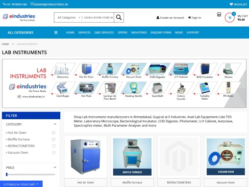 Where can I get Lab Instruments within budget in Ahmedabad?