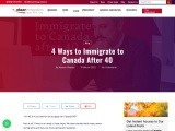 Immigration Options to Canada if You Are Over 45