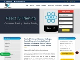 React JS Training in Hyderabad | React JS Institute