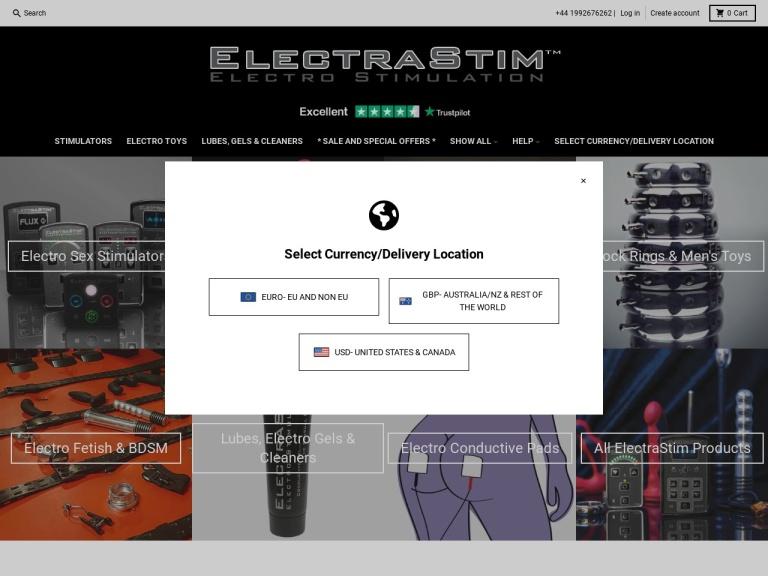 ElectraStim screenshot
