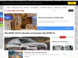 The BMW iNEXT becomes the BMW iX