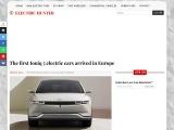 The new Hyundai Ioniq 5 from 41,900 euros