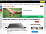 Hyundai and Ineos will develop fuel cell technology