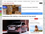 Production of the new Audi Q4 e-tron has started
