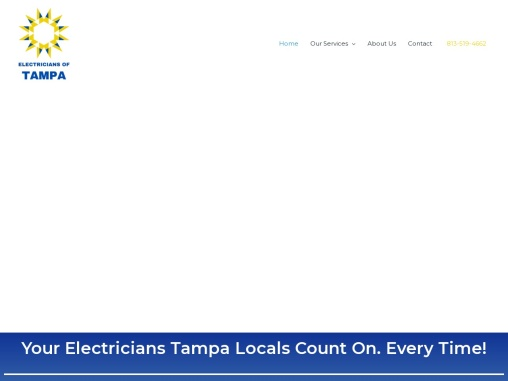 Local Electricians serving Tampa FL and surrounding areas