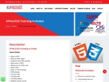 HTML and CSS Training   HTML and CSS Online Course   HTML/CSS Training in Dubai