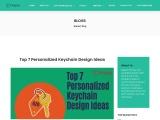 7 Embroidery Keychain Design Ideas