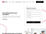 Hire Dedicated Front-end Developers in Ahmedabad, India – Elinsys