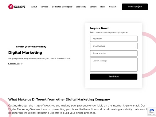Digital Marketing Company in Ahmedabad, Search Engine Optimization Services – Elinsys
