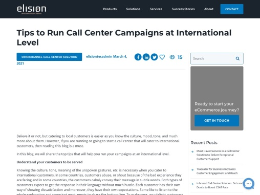 Tips to Run Call Center Campaigns at International Level
