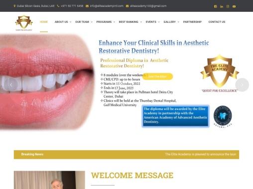 Aesthetic dentistry in Dubai   Dental Continuing Education in Dubai