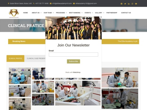 Best Clinical Practice Aesthetic Dentistry – The Elite Academy