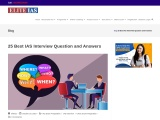 Best IAS Interview Question and Answers