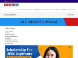 Everything About LBSNAA – IAS Training Centre