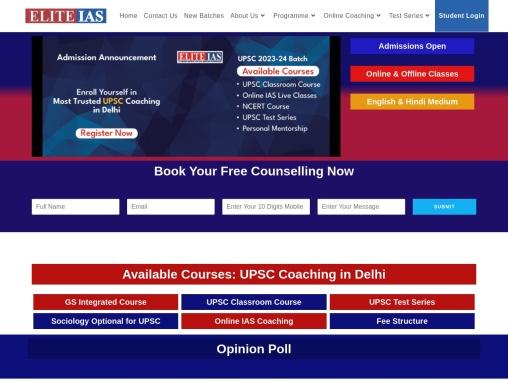Best Coaching Institute for IAS in Delhi