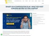 Binary MLM Compensation Plan – Elite MLM Software