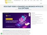 Start your E-commerce MLM business with Elite MLM Software