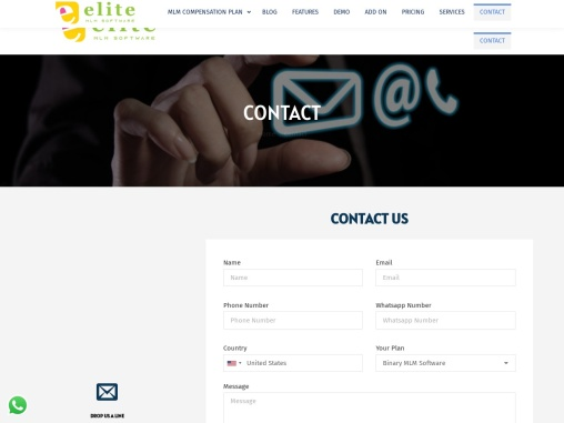 Contact Elite MLM Software – Best MLM Software provider Company