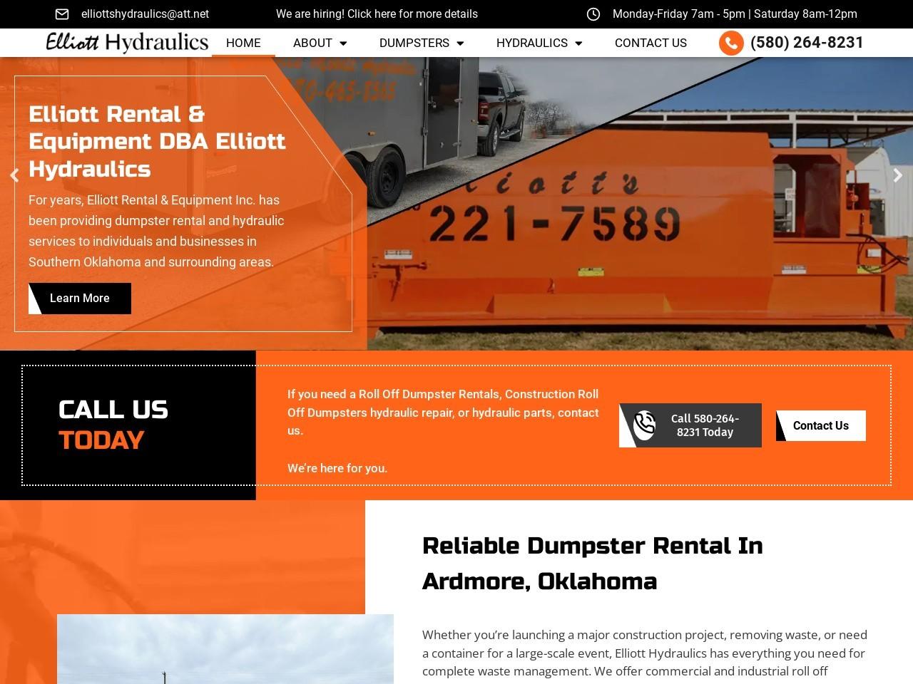 Contact Us | Elliott Rental And Equipment