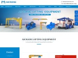 Aicrane lifting machines with different types